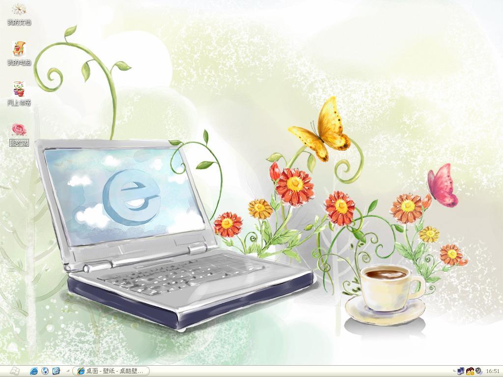 上网本桌面主题高清图片
